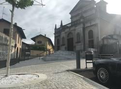 Conclusioni dei lavori alle opere pubbliche a Somma Lombardo