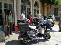 Da Solaro alla Norvegia in Vespa: l'avventura di due solaresi e un caronnese