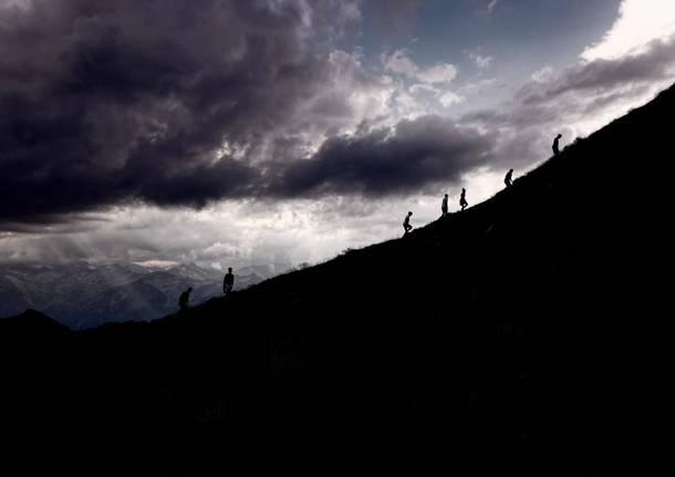 escursione outdoorformo speciale uisp montagna temporale