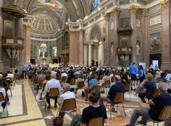Funerali don Alberto dell'Orto Gallarate