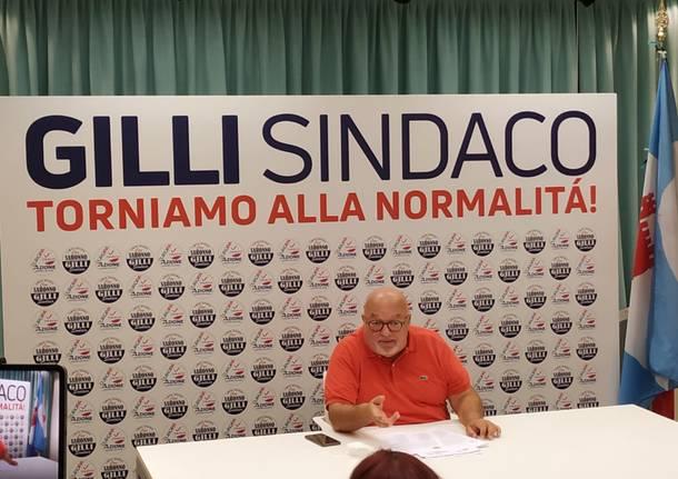 """Gilli presenta la lista dei candidati: """"Persone valide con il desiderio di servire la città"""""""