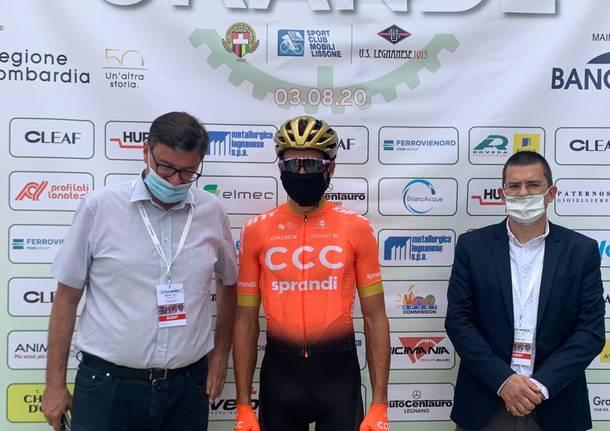 Grande Trittico Lombardo 2020 – La partenza da Legnano