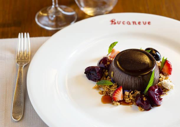 Il nuovo menu dell'Hotel Bucaneve