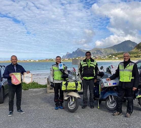 In Vespa da Solaro a Capo Nord: missione compiuta!