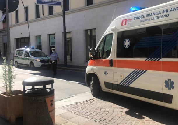 Incidente in corso Italia a Legnano 4 agosto 2020
