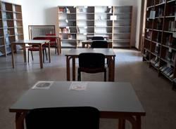 La biblioteca riapre le sale studio