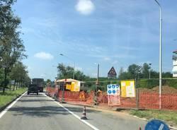 lavori via Novara