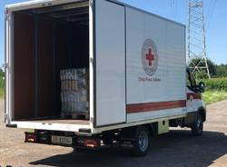 """Maxi donazione di cibo al canile-rifugio di Uboldo: """"Grazie alla Croce Rossa per il gesto d'aiuto"""""""