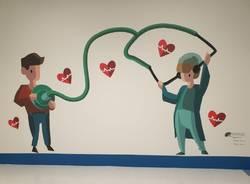 murales ospedale cuggiono