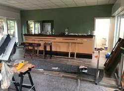 Procedono i lavori per Sciurus, il nuovo chiosco del Parco Bassetti