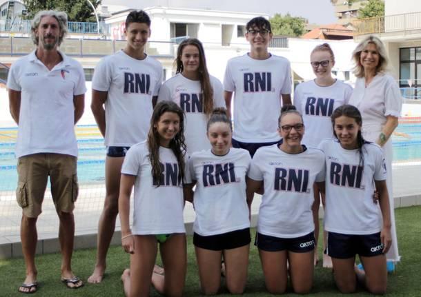 Rari Nantes Legnano - campionati italiani 4 agosto