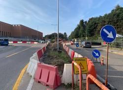 Rotonda via Gasparotto viale Europa cantiere