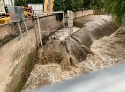 Salto dell'Olona lavori in corso 4 agosto