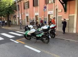 Salvini a Saronno, la contestazione degli anarchici davanti alla stazione