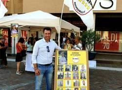 Saronno, gazebo Movimento 5 stelle