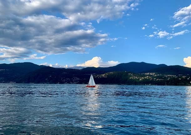 Sera sul Lago Maggiore
