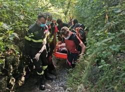 soccorso alpino cascate ferrera