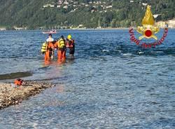 soccorso lago maggiore sommozzatori germignaga