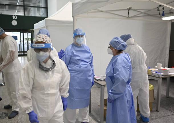 tamponi malpensa coronavirus covid
