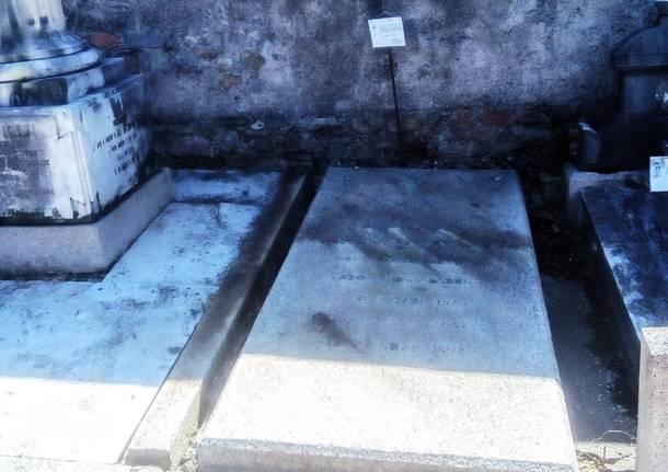 tomba francesco sangalli cimitero giubiano varese