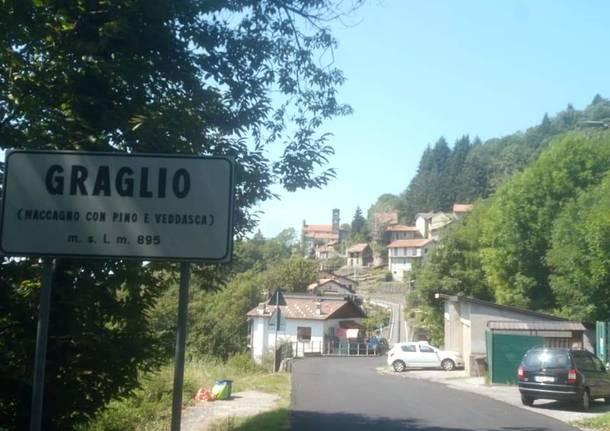 Via Arcisio Montini a Graglio
