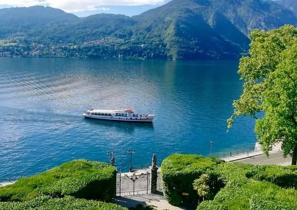Il parco di Villa Carlotta, sul lago di Como