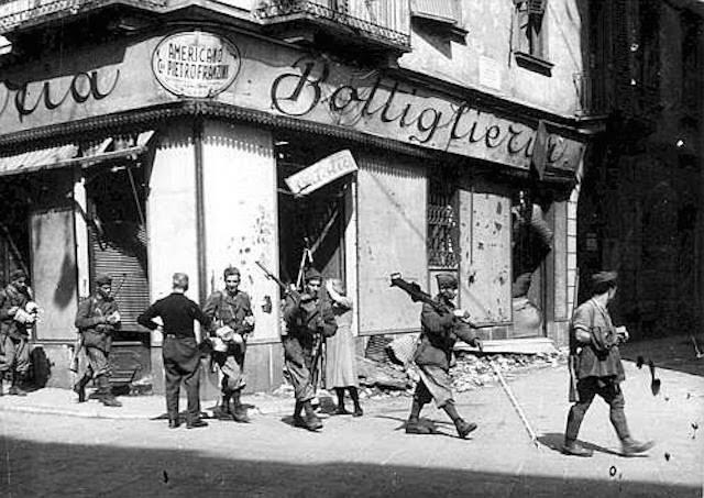 8 settembre 1943 armistizio soldati milano foto da milanoneisecoli