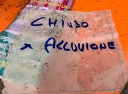Alluvione a Luvinate, la situazione venerdì 25 settembre