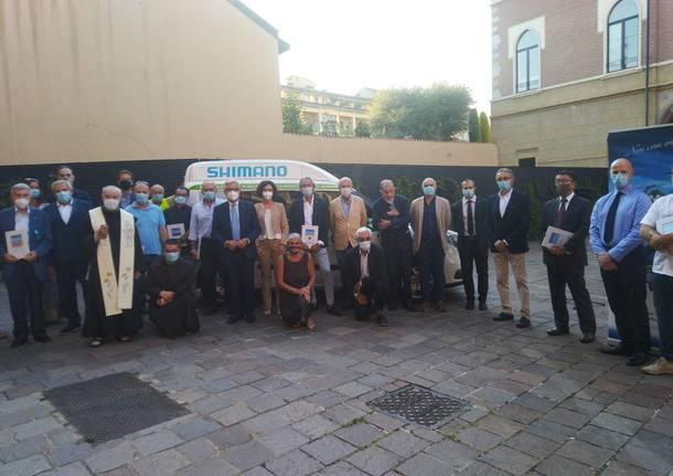 Auser Legnano - Inaugurazione pullmino