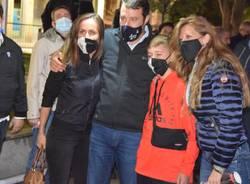 Ballottaggio a Legnano, Salvini in piazza per Carolina Toia