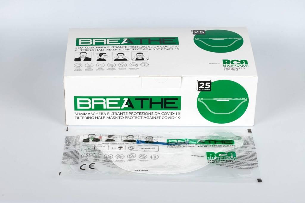 BREATHE,la maschera certificata CE che ti protegge e protegge gli altri