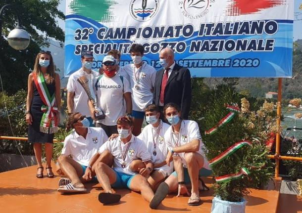 campionati italiani gozzo nazionale canottaggio sedile fisso porto ceresio