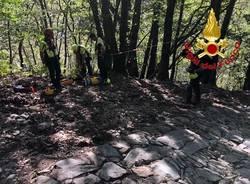 Le ricerche del disperso in Veddasca