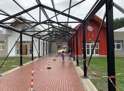 Riaprono le scuole dell\'infanzia a Malnate. Primo giorno per Rovera
