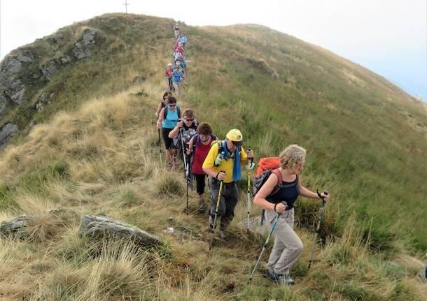 L\'escursione sul Sentiero Italia col Cai