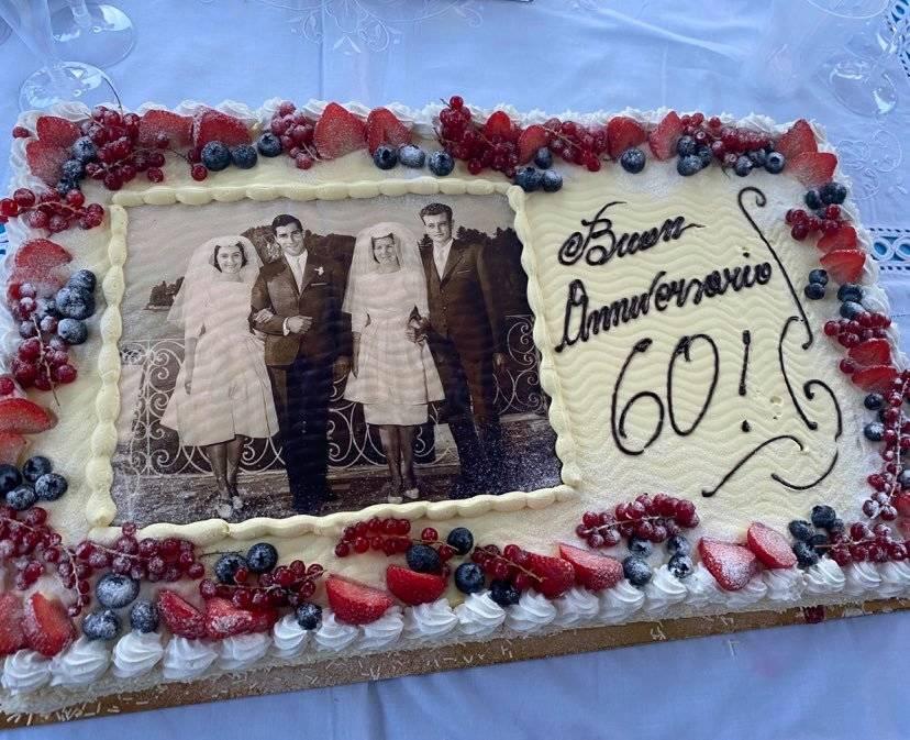 60 anni di matrimonio, doppi auguri!