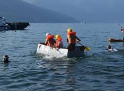 "Luino, la ""Carton Boat Race 2020"""