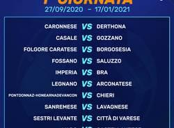 Il Calendario del Girone A di Serie D