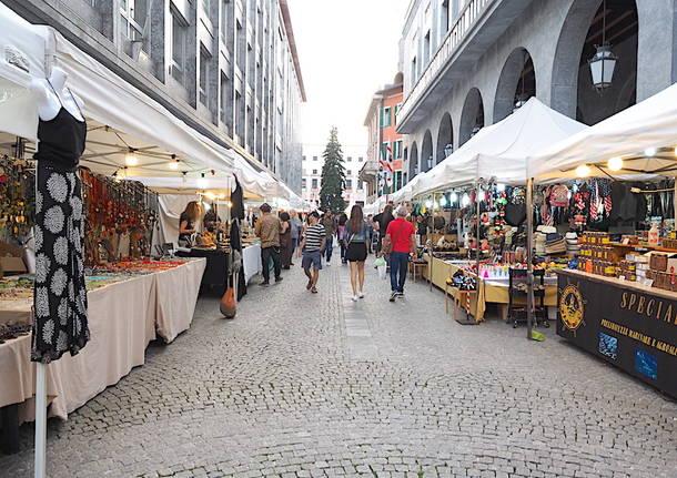 Un pomeriggio in piazza con la Fiera di Varese