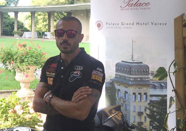 """Pirozzi Tour: il grande """"ducatista"""" visita il Varesotto"""