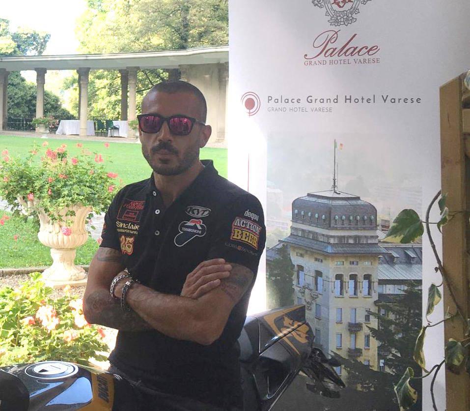"""Pirozzi Tour: il grande \""""ducatista\"""" visita il Varesotto"""