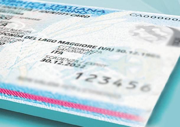 carta d'identità generica