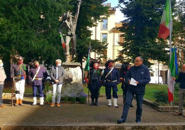 Celebrazione del XX settembre a Varese