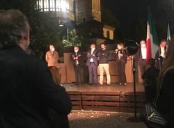 Daniela Santanché a Saronno per sostenere Alessandro Fagioli