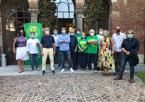 Elezioni a Legnano,  presentazione Europa Verde