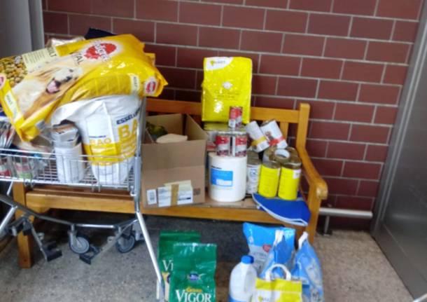 Enpa Saronno: un vero successo la prima raccolta alimentare dopo il lockdown