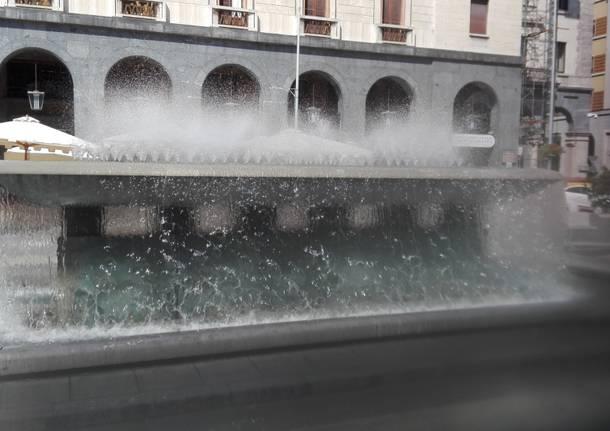 Fontana piazza Repubblica Varese