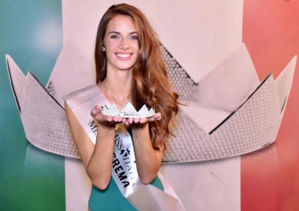 Francesca Rabbolini da Villa Cortese vince la tappa di Crema di Miss Italia
