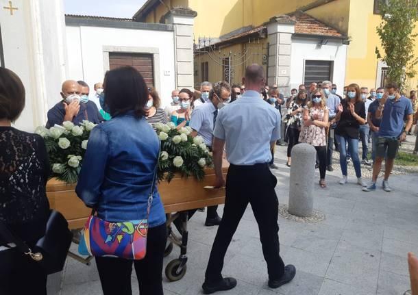 Funerali di Simone Carnevale Nerviano