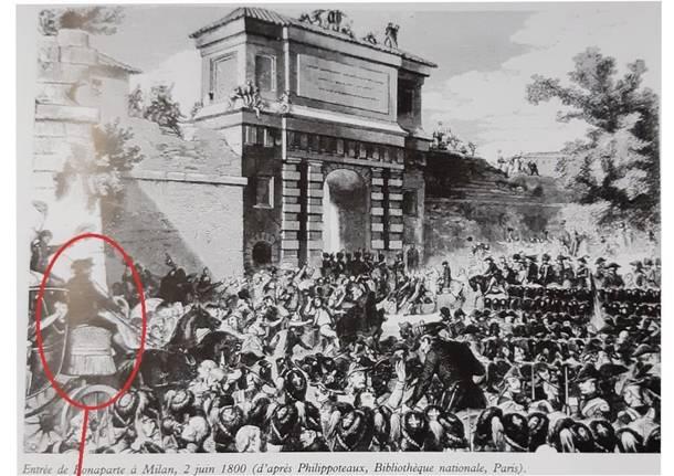 Ingresso di Napoleone a Milano